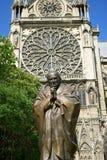 Папа Статуя Жан Поля II стоковые фотографии rf