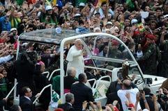 Папа Франсиско стоковое изображение