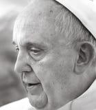 Папа Фрэнсис, Ватикан стоковое изображение