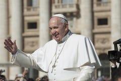Папа Фрэнсис Стоковая Фотография