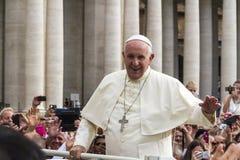 Папа Фрэнсис Стоковые Фото