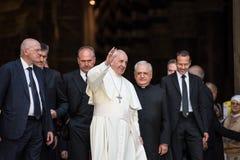 Папа Фрэнсис стоковые изображения rf