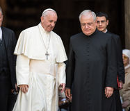 Папа Фрэнсис стоковые фотографии rf