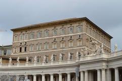Папа Francesco базилики St Peter Стоковая Фотография RF