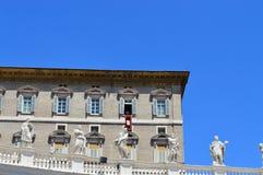 Папа Francesco базилики St Peter Стоковая Фотография