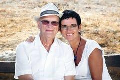 папа i мое стоковая фотография