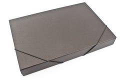 Папка портфолио картона стоковая фотография rf