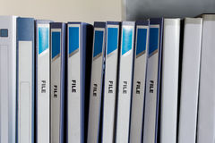 Папки файла Стоковые Изображения RF