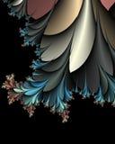 папоротник bush терновый иллюстрация вектора