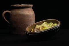 паприка глиняного кувшина Стоковые Фотографии RF