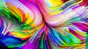 Парадигма краски цифров Стоковое Фото