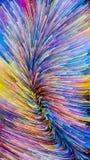 Парадигма краски цифров стоковая фотография