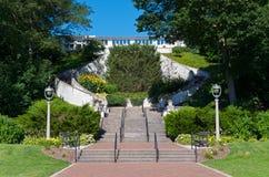 Парадная лестница парка озера в Milwaukee Стоковые Изображения RF
