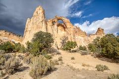 Парадная лестница Escalante Canyon Road хлопока свода Grosvenor стоковые фотографии rf