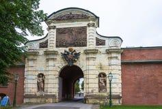 Парадный вход к крепости 29-ое сентября 20 Питера и Пола Стоковые Фото