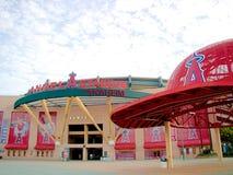 Парадный вход Angel Stadium Стоковое Изображение