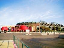 Парадный вход Angel Stadium Стоковое Фото