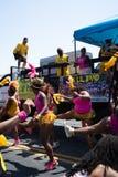 Парад 2018 Балтимора карибский стоковая фотография
