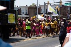 Парад 2018 Балтимора карибский стоковое фото rf