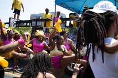 Парад 2018 Балтимора карибский стоковые фотографии rf