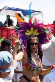 Парад 2018 Балтимора карибский стоковое изображение