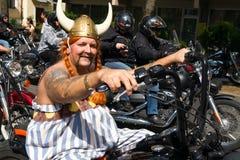 парад велосипедистов стоковое изображение