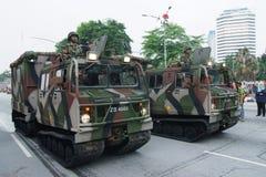 парад вооруженных сила стоковые изображения