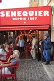 Парад в гавани St Tropez стоковые фото