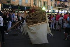 Парад в гавани St Tropez стоковое изображение rf