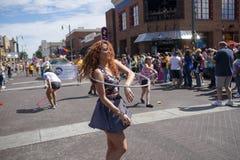 Парад гей-парада 2017 Мемфиса Стоковое Фото
