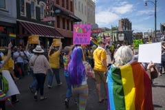 Парад гей-парада 2017 Мемфиса Стоковое Изображение