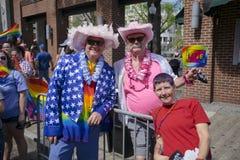 Парад гей-парада 2017 Мемфиса Стоковое Изображение RF
