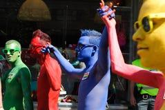 Парад гордости Прага Стоковые Изображения