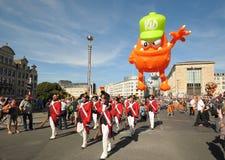 Парад дня воздушных шаров Стоковое Изображение RF