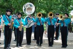 парад дня мемориальный национальный Стоковая Фотография