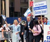 парад Израиля 2011 дня стоковое фото rf