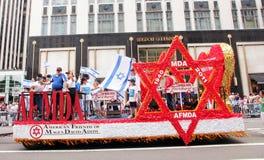 парад Израиля 2011 дня стоковая фотография