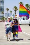 Парад лесбиянок и геев r стоковое изображение rf