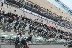 Парад марафона Брайтона грандиозный Стоковая Фотография RF