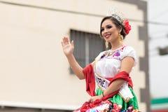 Парад мексиканской революции 20-ое ноября Стоковые Фото
