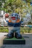 Парад Мехико 2017 шарика NFL стоковая фотография rf