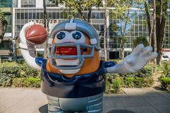 Парад Мехико 2017 шарика NFL Стоковое Фото