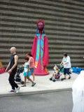 парад музея cleveland круга искусства стоковые изображения