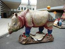 парад музея cleveland круга искусства стоковые изображения rf