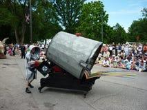 парад музея cleveland круга искусства стоковое фото rf