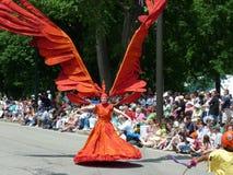 парад музея cleveland круга искусства стоковые фото