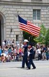 парад независимости дня Стоковая Фотография