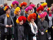 Парад пасхи и фестиваль Bonnet в Нью-Йорке 21-ое апреля 2019 стоковая фотография rf