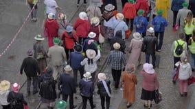 Парад пожилого гражданина акции видеоматериалы