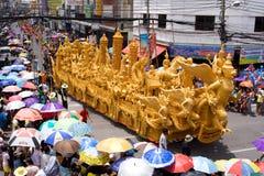 парад празднества свечки Стоковые Фотографии RF